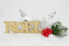 Noel Decoration Royalty Free Stock Photos