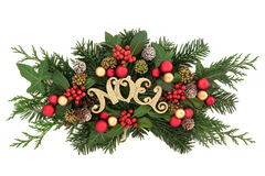 Noel Decorative Display Royalty Free Stock Photography
