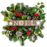Noel Dekoration Lizenzfreies Stockbild