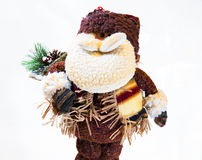 Noel del silvester del papa Imagen de archivo libre de regalías