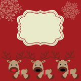 Noel2. A greeting card for christmas and/or the new year Royalty Free Stock Photos