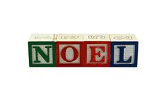 Noel new blocks Stock Photos