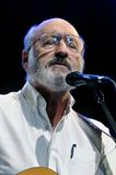 Noel Paul Stookey. ST. PETERSBURG, FLORIDA - FEBRUARY 18, 2012: Paul Stookey, best known as Paul in the folk trio Peter, Paul and Mary, sings at The Palladium on Royalty Free Stock Image