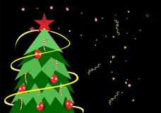 Noel pittoresque illustration de vecteur