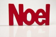 Noel rosso Immagini Stock Libere da Diritti