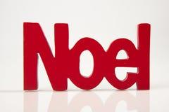 Noel rosso Fotografia Stock