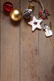 Noel starlight. New year decoration and noel Royalty Free Stock Image