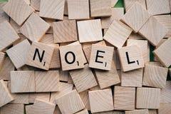 Noel wooden cubes