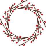 Noel Wreath Royaltyfria Bilder