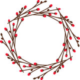Noel Wreath Royalty Free Stock Images