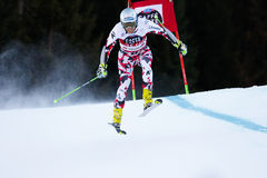 NOESIG Christoph in Audi Fis Alpine Skiing World-Gia van Kopmen's royalty-vrije stock fotografie