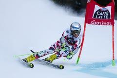 NOESIG Christoph nel Gia di Men's della tazza di Audi Fis Alpine Skiing World Immagini Stock