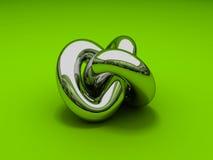 noeud 3D Gordian Photo libre de droits
