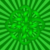 Noeud celtique illustration stock