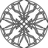Noeud celtique décoratif Image libre de droits