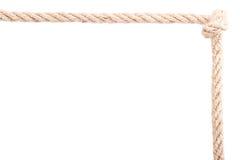Noeud de cadre de corde Image libre de droits