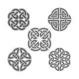 Noeud de celtic de vecteur Ornement ethnique Images libres de droits