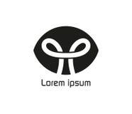 Noeud Logo Design Concept Images libres de droits