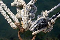 Noeuds d'amarrage Image stock