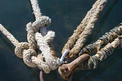 Noeuds d'amarrage Photos libres de droits