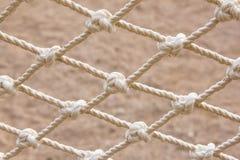 Noeuds de corde comme fond Photos libres de droits