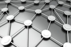Noeuds de réseau illustration de vecteur