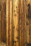 Noeuds et clous en bois Image stock
