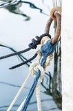 Noeuds et cordes image stock