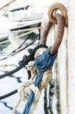 Noeuds et cordes photo libre de droits