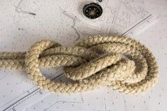 Noeuds nautiques Image stock
