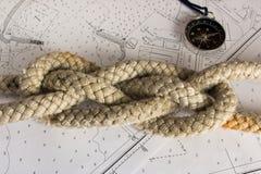 Noeuds nautiques Photographie stock libre de droits