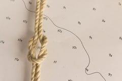 Noeuds nautiques Photos libres de droits