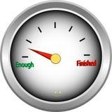 nog humoristisk färdig gauge vektor illustrationer