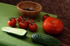 Nog liffe met groenten Stock Foto's
