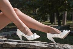 noga buty Obrazy Stock