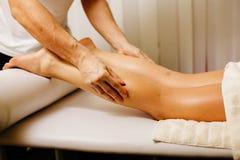 Noga masażu zakończenie up Obraz Stock