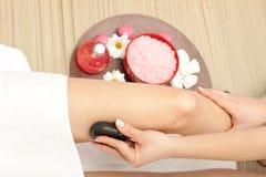 noga masaż Fotografia Stock