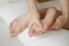 Noga masaż Zdjęcie Stock