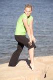 noga pokazywać kobiety Zdjęcia Stock
