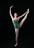 noga z baletnice Zdjęcia Royalty Free