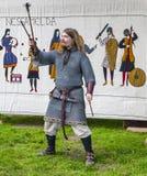 Actor medieval Imágenes de archivo libres de regalías