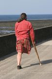 nogi człowiekiem jednego Fotografia Stock
