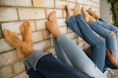 Nogi dziewczyn dziewczyny Obraz Royalty Free
