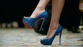 Nogi kobieta zbiory wideo
