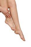 nogi kobiety Zdjęcia Stock