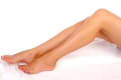 nogi kobiety Fotografia Royalty Free