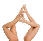 nogi kobiety Zdjęcia Royalty Free