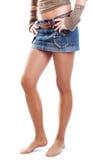 nogi kobiety young Obraz Stock