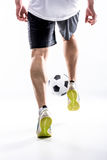 Nogi mężczyzna w sneakers Zdjęcie Stock