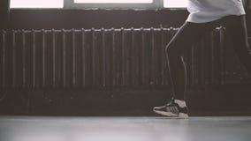 Nogi młody hip hop tancerz zbiory wideo